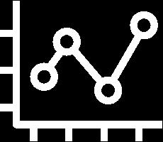 White Graph Icon